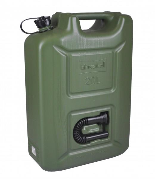 Jerrican de réserve synthétique 20 litres
