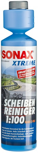 Sonax XTREME Clear View Windscreen Cleaner 1:100 Concentrate