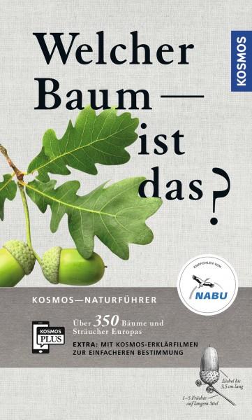 Welcher Baum ist das? (Which tree is that?) Text in German.