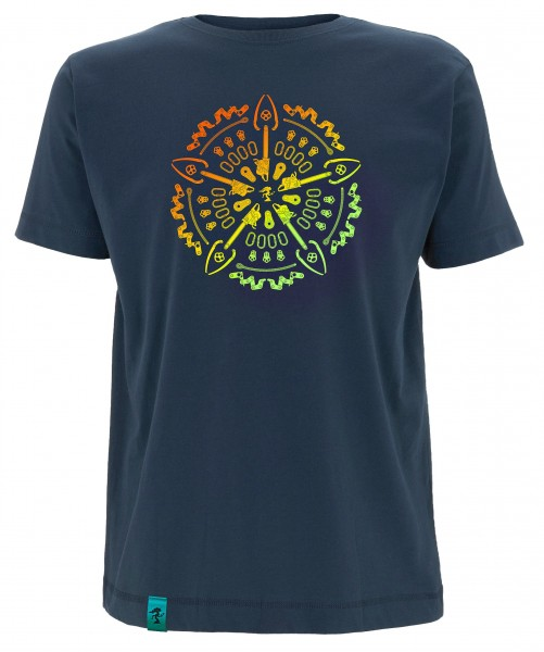 Dendroid Herren-T-Shirt Symmetree