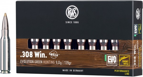 RWS Evolution Green Short Rifle .308 Win.