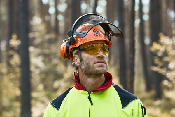 Peltor Kopfschutz-Kombination G3000M mit H31 Gehörschutz und V9 Schutzbrille