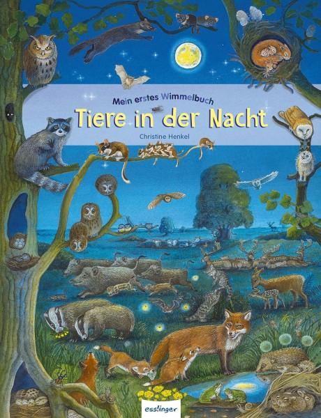 Mein erstes Wimmelbuch - Tiere in der Nacht