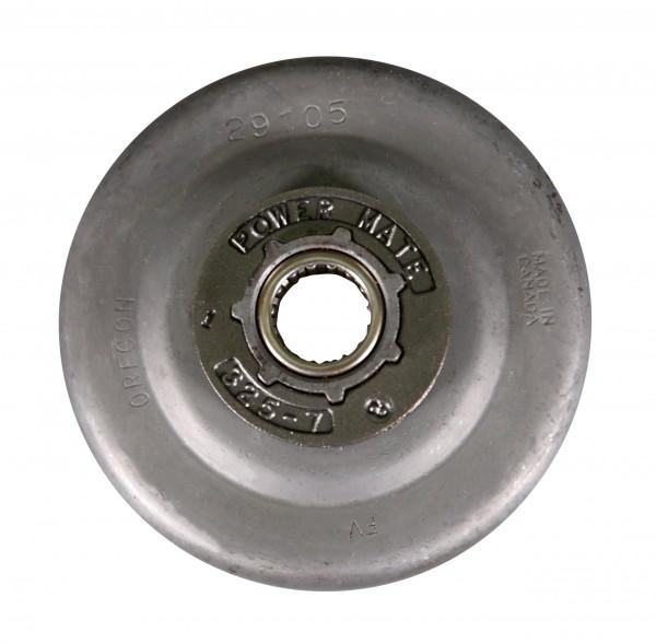 """Pignon annulaire Oregon complet avec roulement à aiguilles .325"""", 7 dents, taille du moyeu : petite"""