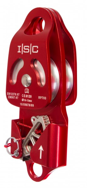 ISC Seilrolle Double Progress Pulley