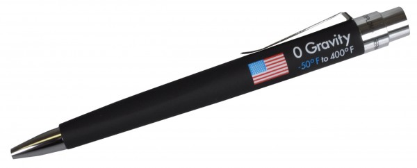 Space Pen 0-Gravity, schwarz
