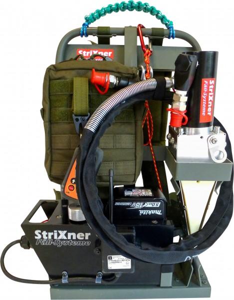 Strixner Fällsystem FK20T Akku mit Tragesystem