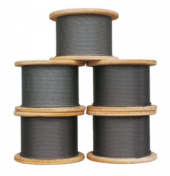 Stahlseil mit Fasereinlage