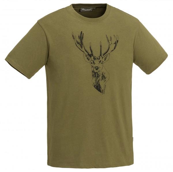 Pinewood Herren-T-Shirt Red Deer