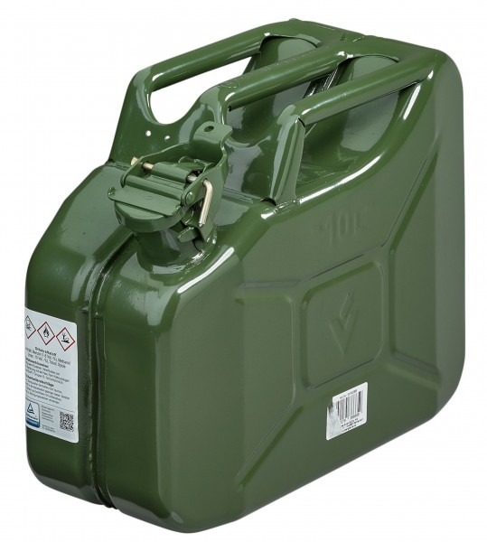 WM Steel Petrol Canister (Jerrycan)