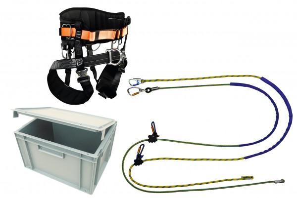 Baumkletterset Kurzsicherung, einfaches Set für Kletterer mit SKT-A Kurs