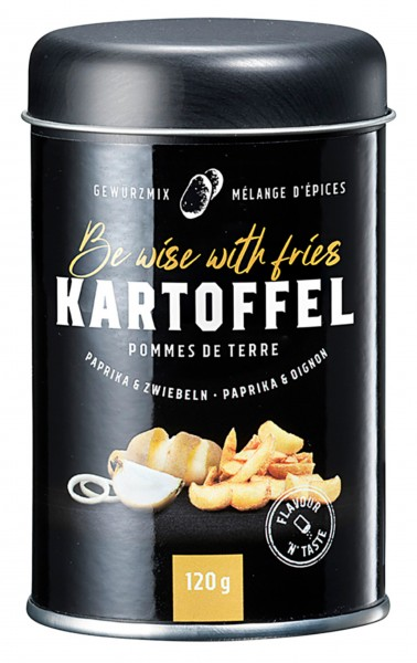 Gewürzmix Kartoffel - Be wise with fries