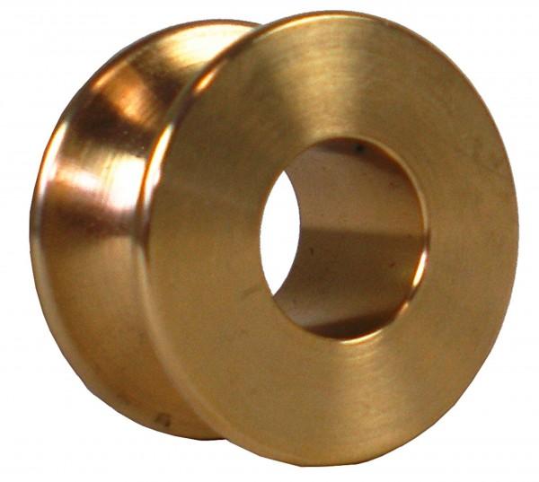 Porta Winch / Portable Winch Einlaufrolle aus Bronze