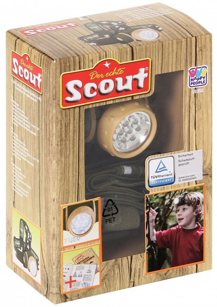 Scout LED-Stirnlampe