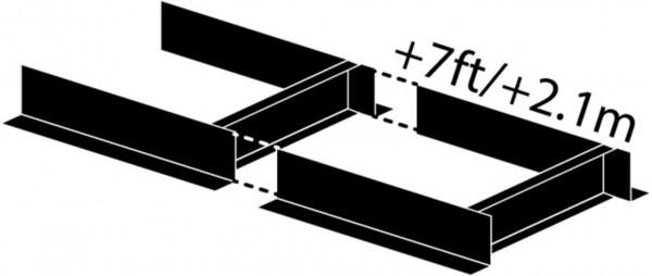 Frontier Sägewerksverlängerung 210 cm für OS 31