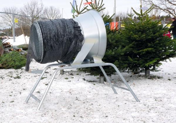 Weihnachtsbaumverpackungsgerät