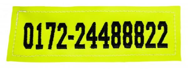 Outdog Klett-Patch für Handynummer