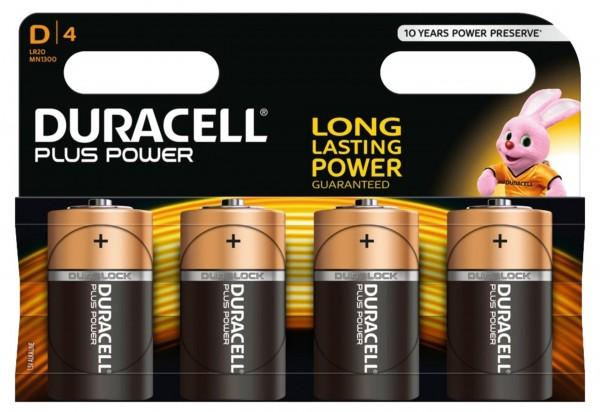 Piles Duracell IEC, LR20 / MN1300 1,5 V