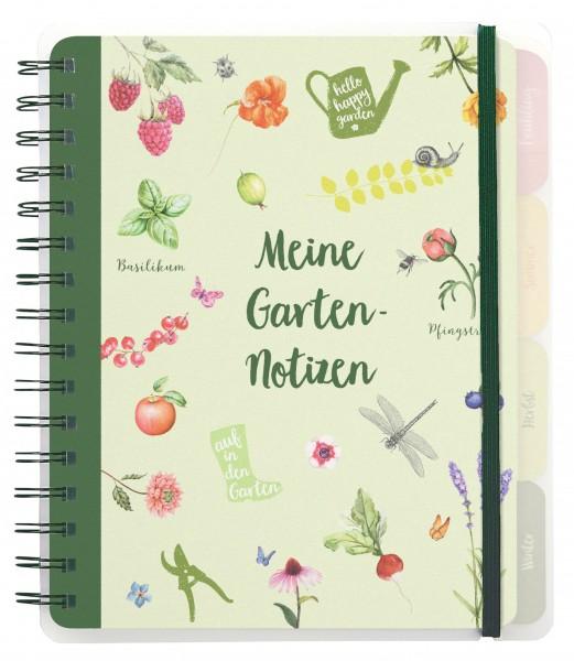 """Eintragbuch """"Meine Gartennotizen"""""""