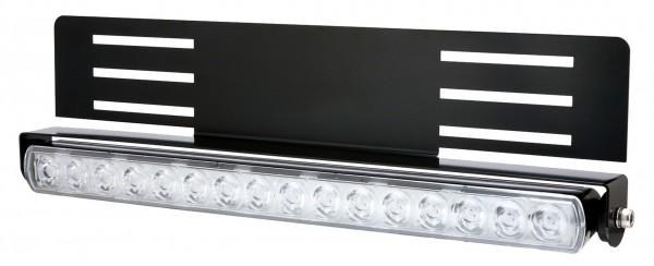 Porte-plaque d'immatriculation Blixtra pour rampes lumineuses
