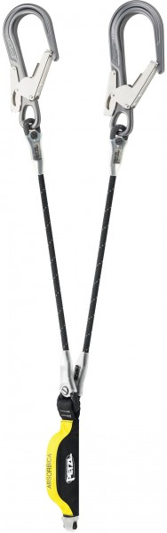 Petzl Verbindungsmittel Absorbica Y MGO, Länge 80 cm – EN 354/EN 355/EN 362