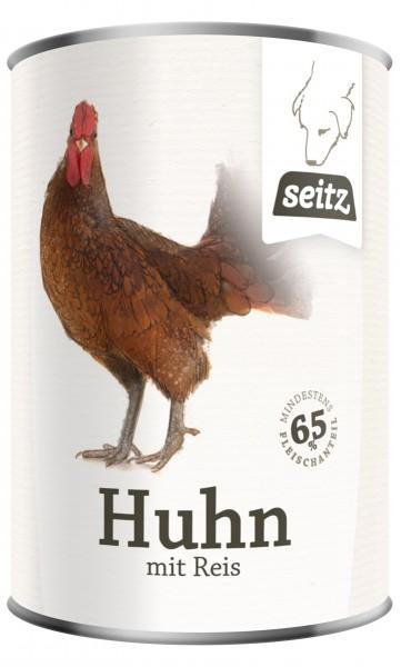 Seitz Dosennahrung 6 x Huhn mit Reis