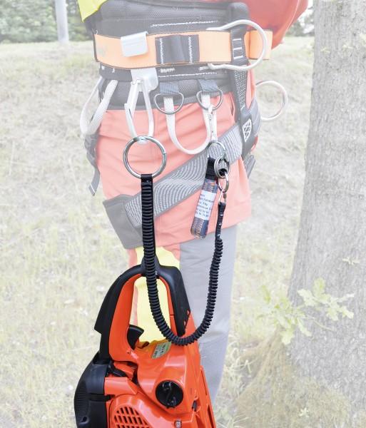 Tree Runner Motorsägenstropp mit Überlastsicherung und Falldämpfer