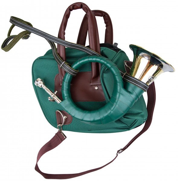 Fürst-Pless-Horn mit Tasche