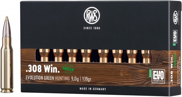 RWS Evolution Green .308 Win.