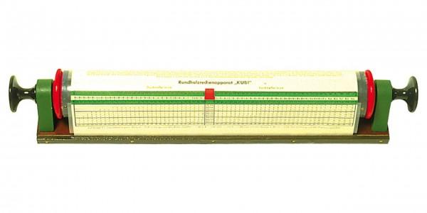 Calculatrice de bois ronde Kubi