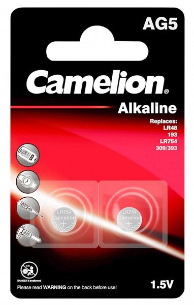 Camelion Batteries AG5/LR48 Button Cell