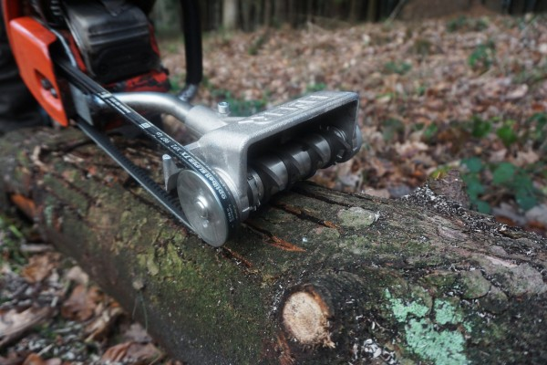 Eder Bark Beetle Milling Device - Chainsaw Extension