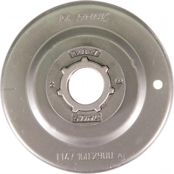 "Pignon annulaire Stihl 3/8"", 7, moyeu taille Standard"