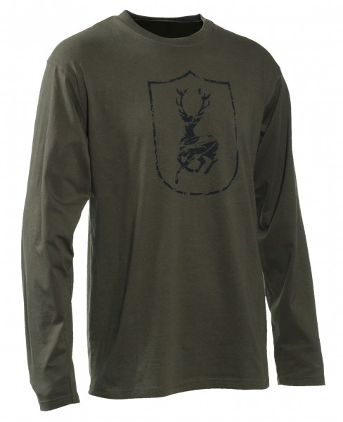 Deerhunter Herren-Langarmshirt Logo