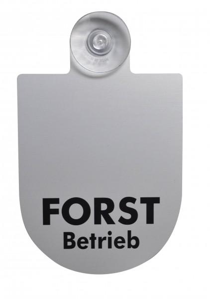 Autoschild Forstbetrieb