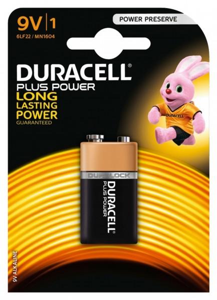 Duracell Battery (Block Battery) 9 V, IEC