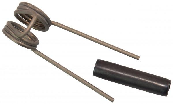 Feder und Splint für Wirbelhaken Nr. 41-404