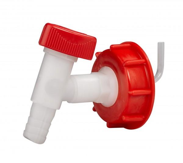 Kunststoffauslaufhahn