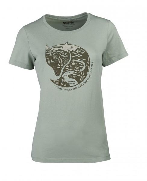Fjällräven Damen-T-Shirt Arctic Fox Print