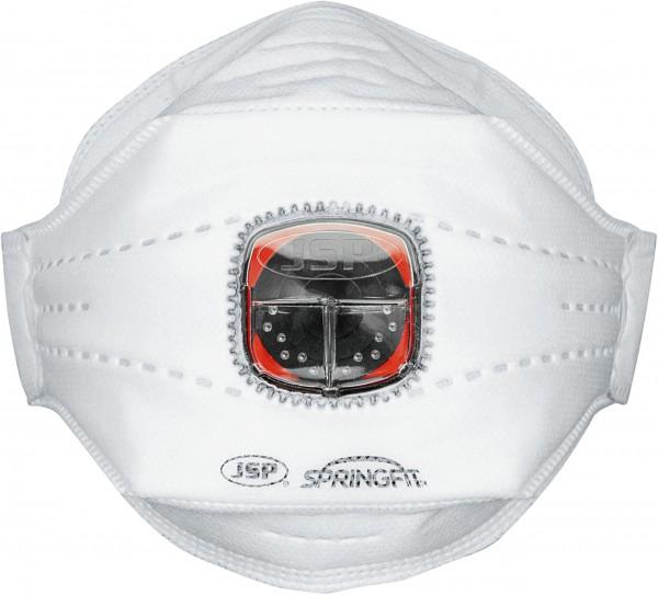 JSP Einweg-Atemschutzmaske Springfit FFP3 mit Typhoon-Ventil