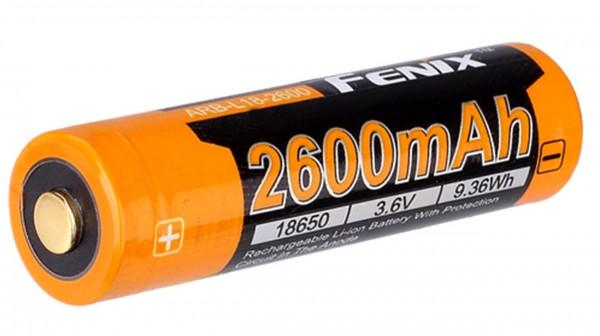Batterie Li-Ion Fenix ARB-L18-2600 mAh 18650