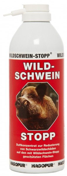 "Wild Boar ""STOP"" Red"