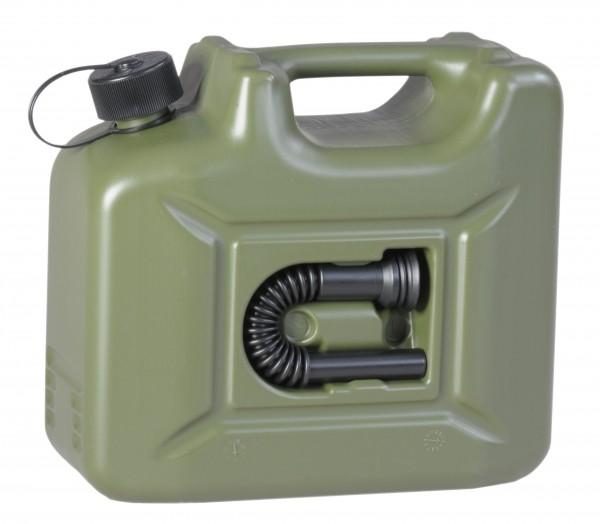 Jerrican de réserve synthétique 10 litres