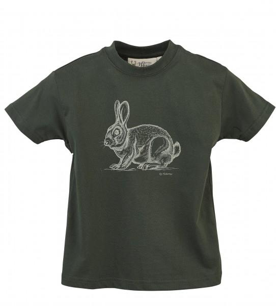 Hubertus Kinder-T-Shirt Kaninchen