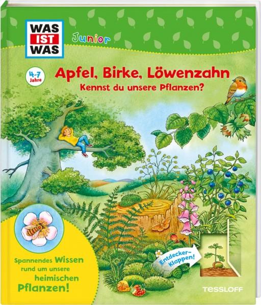 Was ist was Junior - Apfel, Birke, Löwenzahn, kennst du unsere Pflanzen?