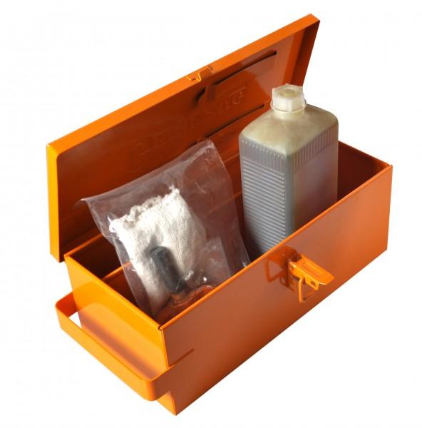 Werkzeugkasten mit Werkzeug