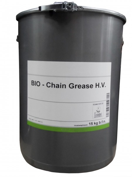 Organic Chain Grease 15 kg Tub
