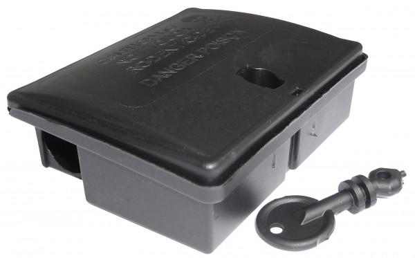Mäuseköderbox aus Kunststoff