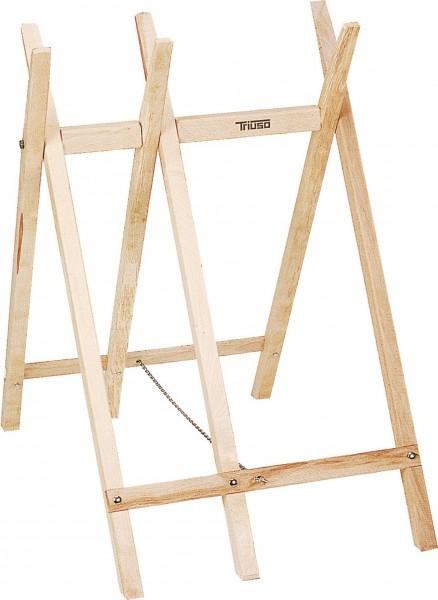 Tréteau de sciage de bois, triangulaire
