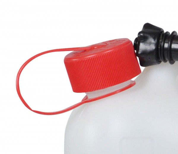 Red Child-proof Canister Cap